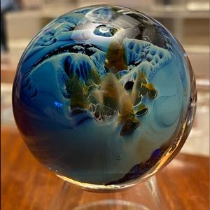 Hand Blown Glass Marble